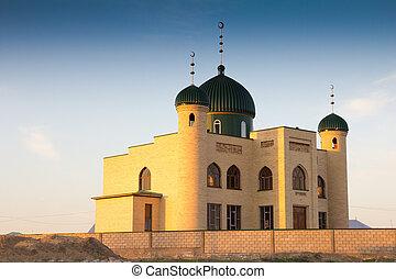 Muslim mosque in Kazakhstan. Shymkent