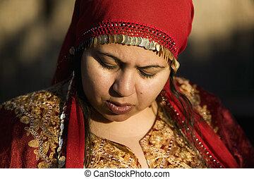 Muslim Woman Outdoors