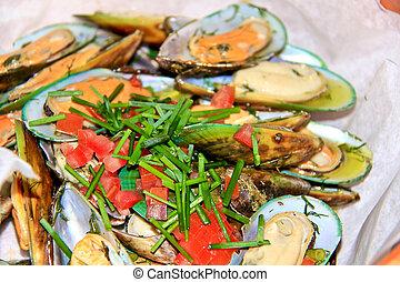 mussel - shellfish