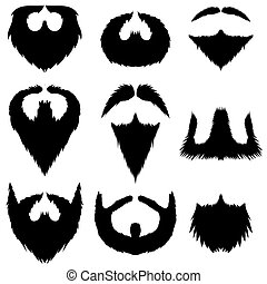 Mustaches and Beards Collection