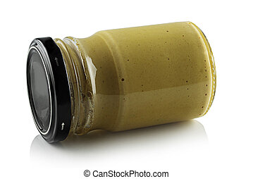 Mustard in a jar