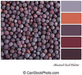 Mustard seed palette