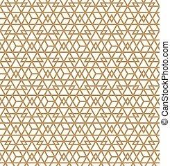 muster, abstrakt, geometrisch, .brown, seamless, hintergrund, linien, weißes