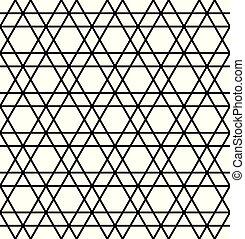 muster, abstrakt, geometrisch, hintergrund, seamless, linien, .black, weißes