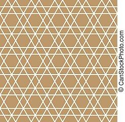 muster, abstrakt, geometrisch, .white, seamless, hintergrund, brauner, linien