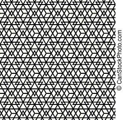 muster, abstrakt, linien, seamless, .black, hintergrund, geometrisch, weißes