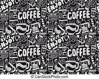 muster, bohnenkaffee, seamless