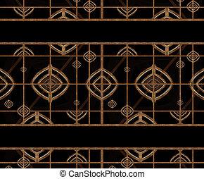 muster, geometrisch, abstrakt