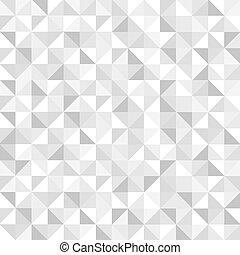 muster, geometrisch, seamless, grau