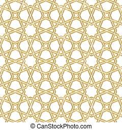 muster, geometrisch, tiling, seamless