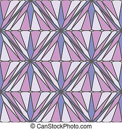 muster, quadrat, seamless
