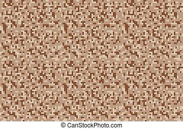 muster, safari, pixel, tarnung, seamless