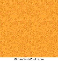 muster, seamless, schlanke, orange, linie, ostern, glücklich
