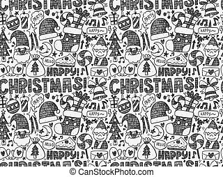 muster, seamless, weihnachten