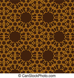 muster, stil, islamisch