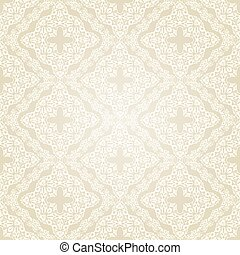 muster, style., seamless, viktorianische , vektor