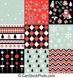 muster, weihnachten