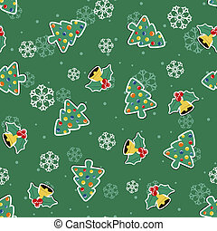 muster, weihnachten, hintergrund