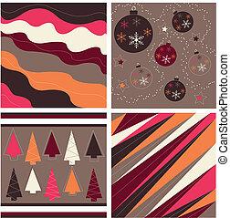 muster, weihnachten, seamless, beschaffenheit