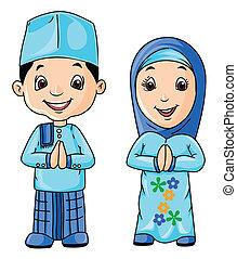 musulmán, día