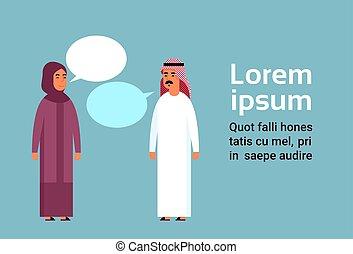 charla árabe trajes