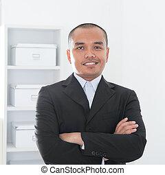 musulman, affaires asiatiques, homme