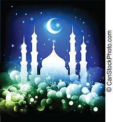 musulman, fond