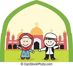 musulman, gosses