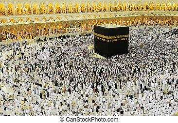 musulmani, kaaba, hajj, makkah