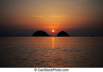 musulpo Beach, sunrise