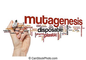 Mutagenesis word cloud