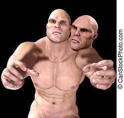mutant, deux dirigé