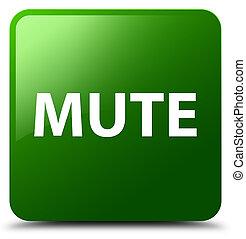 Mute green square button