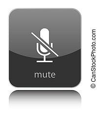 Mute icon on white