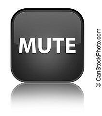 Mute special black square button
