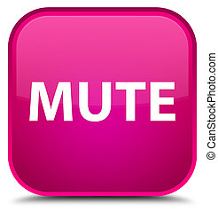 Mute special pink square button