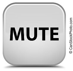 Mute special white square button