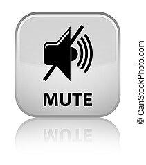 Mute special white square button