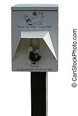 Mutt Mitt Box - Pick Up After Your Pet - a box with...