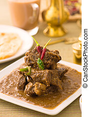 mutton curry korma , indian food