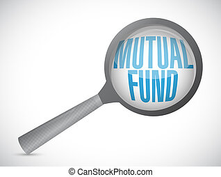 mutual fund review concept illustration
