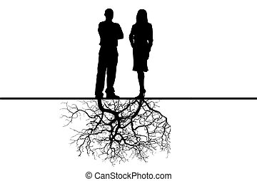 Mutual relations - Relations between the man and the woman...