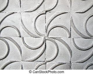 muur, abstract