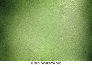 muur, abstract, textuur, metalen, achtergrond, groene, geborstelde