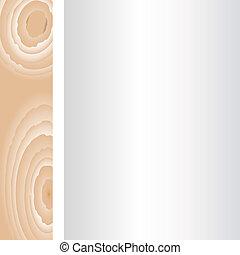 muur, achtergrond., hout, oud, ouderwetse