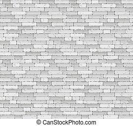 muur, baksteen, -, achtergrond, eindeloos