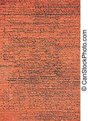 muur, baksteen, achtergrond