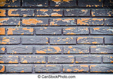 muur, baksteen, achtergrond, textuur