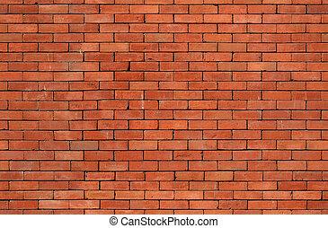 muur, baksteen, seamless, textuur