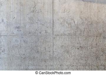 muur, beton, grungy, achtergrond, vloer